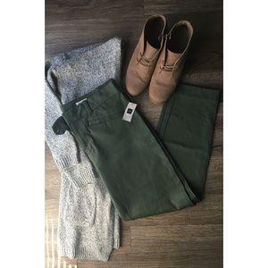 Skinny Ankle Pants Jungle Green GAP